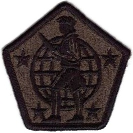 WorldMilitary - USA Human Resources Command Patch. Alpha ...