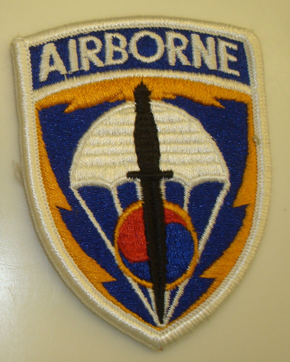 Special Operations Command Korea Patch Special