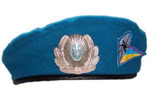 Beret of 95th brigade of Special Purpose Airborne Troops of Ukrainian Armed Forces