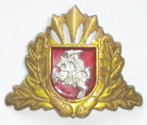 Badge of the Armed Forces of Lithuania. Model 1996