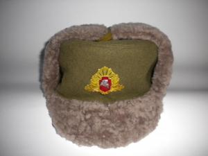 Winter Hats soldiers and officers of the Armed Forces of Lithuania