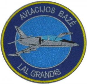Patch of Squadron of light attack FLIGHT Air Force Lithuania