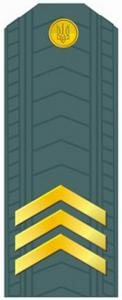 Sergeant of the Armed Forces of Ukraine