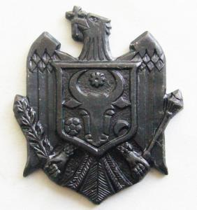 Soldier's Subdued Badge of the Armed Force of the Republic of Moldova