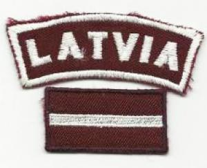 National Flag and LATVIA tab