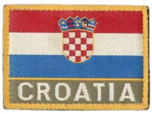 "Patch ""National Flag"" Armed Forces of Croatia"