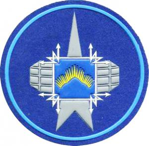 Patch of a military unit 16605 of Russian Space Forces