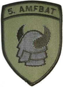 5th Naval Battalion Patch. Sweden