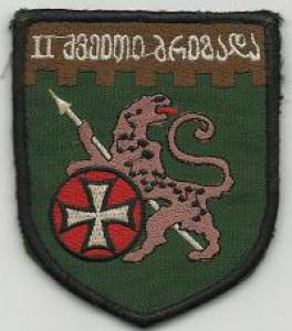 2nd Infantry brigade Patch. Armed Forces Georgia