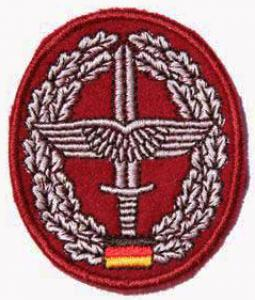 "Bundeswehr Embroidered Beret Insignia ""Army aviation"". Germany Federal Defence Force"