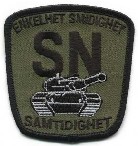Mechanized Unit Patch of the Armed Forces of Sweden