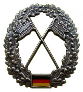 "Bundeswehr Beret Metal Insignia ""Army Intelligence"". Germany Federal Defence Force"