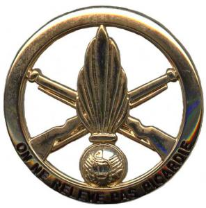 92 th Infantry Regiment Beret Badge of French army