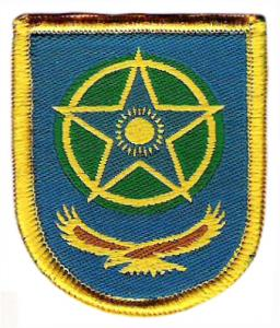 Berets Flash Patch of armed forces of Kazakhstan