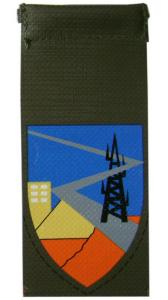 Communications unit Shoulder Tag of Home Front Command IDF