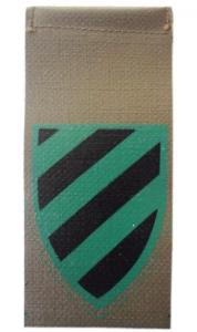 Chief Armored Directorate Shoulder Tag Israel Defense Forces