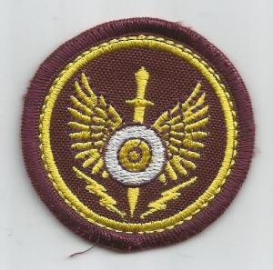 Beret Cloth Badge for Spesial Forces of Uzbekistan