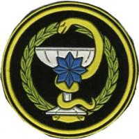 Patch of the Medical Service of the Armed Forces of the Republic of Uzbekistan