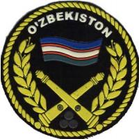Color Patch of Artillery Troops of the Armed Forces of the Republic of Uzbekistan