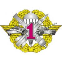 "Qualification Badge ""Specialist 1 st Class"" for contract soldiers of Ground Force of the Armed Forces of Ukraine"