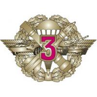"Qualification Badge ""Specialist 3rd Class"" for contract soldiers of Ground Force of the Armed Forces of Ukraine"