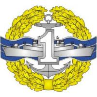 "Qualification Badge ""Specialist 1 st Class"" for contract soldiers of the Naval Force of Ukraine"