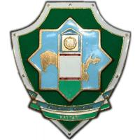 "Badge ""The senior border patrol"" of the Border Troops Service of National Security of the Republic of Uzbekistan"