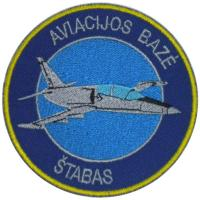 Patch of of light attack aircraft carrier base Air Force Lithuania