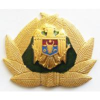 Soldiers Cap Badge of the Republic of Moldova