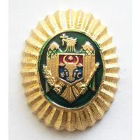 Officer's Badge of the Border Guard of the Republic of Moldova. Current Badge