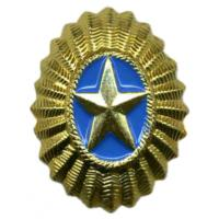 Cap Officer Badge of the Armed Forces of Kazakhstan