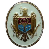 Soldiers Cap Badge of the Armed Forces of Moldova