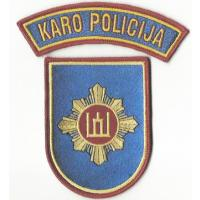 Lithuanian military police patches