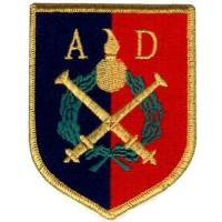 The 34th Artillery Division Patch of the National Guard of Latvia