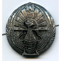Soldiers Subdued Cap Badge of the Armed Forces of the Republic of Uzbekistan