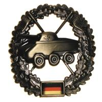 "Bundeswehr Metal Beret Badge ""Armored Reconnaissance"". Germany Federal Defence Force"