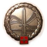 Swiss Land Forces Beret Insignia