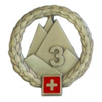 3rd Mountain Corps Beret Insignia of Swiss Land Forces