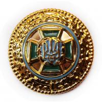Plastic badge of the State Border Service of Ukraine. Model 2011 #2