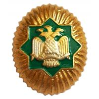 Cap Badge officer of the Armed Forces of Turkmenistan