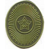 Headgears Subdued Patch of Armed Forces Republic of Belarus