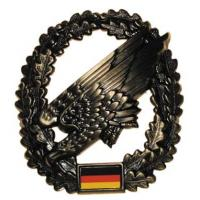 "Bundeswehr Metal Beret Insignia ""Paratrooper"". Germany Federal Defence Force"