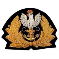 Embroidered badge Navy Poland