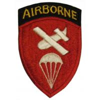 Airborne Command Patch. Alpha Units. US Army