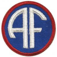 Allied Forces Headquarters Patch. Alpha Units. US Army