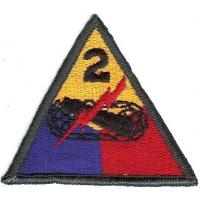 2 Armored Division Patch. US Army