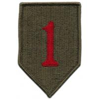1st Infantry Division Patch. US Army