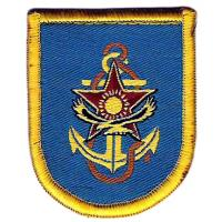 Navy Berets Flash Patch of armed forces of Kazakhstan