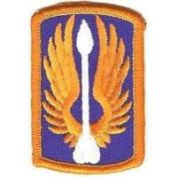 18 Aviation Brigade Patch, US Army