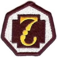 7 Medical Command Patch. US Army